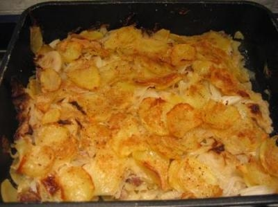 Patate al forno con yogurt